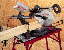 Toolbox: New Bosch Sliding Compound-Miter Saw