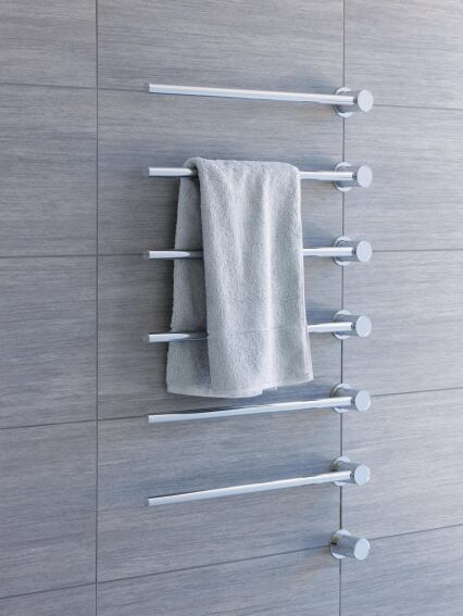 Hastings Tile and Bath's Vola Towel Warmer