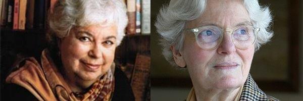 Left: Phyllis Richman. Right: Denise Scott Brown.
