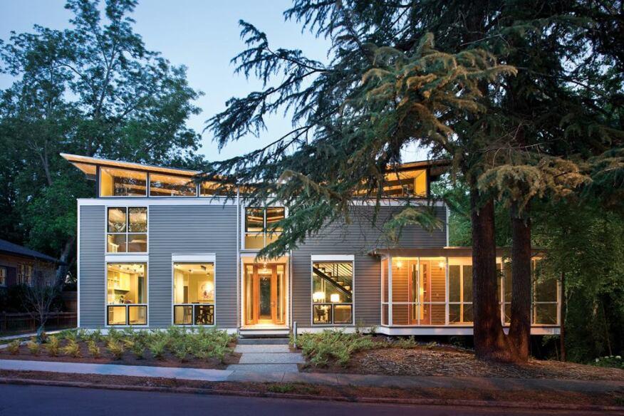 Five award winning sustainable homes from the builder 39 s for John paul greene custom homes