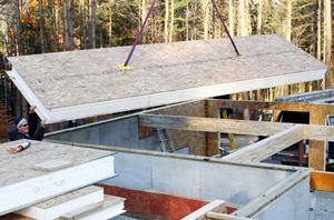 Builders new structural insulated panels guidelines too for Sip floor panels