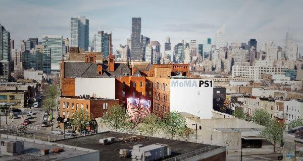 A rendering of The Living's Hy-Fi, winning design of the 2014 Young Architects Program