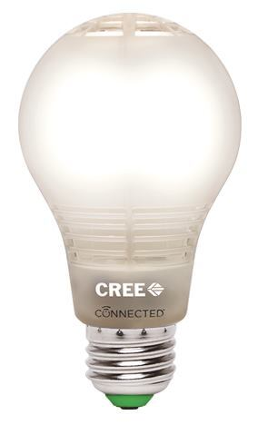 Cree's Internet-connected LED 60W replacement lamp.