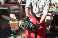 Full-Sized Cordless Chain Saw