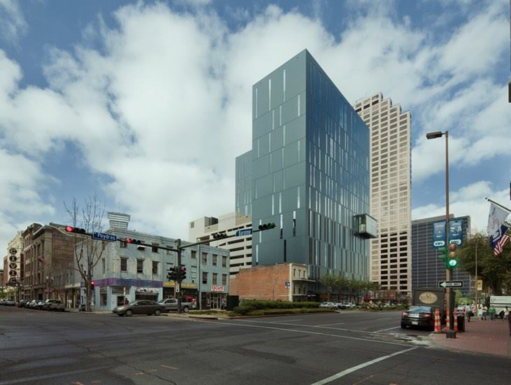 930 Poydras Residential Tower, New Orleans, La., by Eskew+Dumez+Ripple.