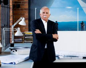 "The fellowship program that Moshe Safdie instituted at his firm in 2003 is so important to him that he runs it without regard for the bottom line—even in a recession. ""We've shrunk the office,"" he says, ""but not the fellowship."""