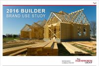2016 Builder Brand Use Study Results