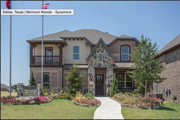 A Gehan home in Dallas.