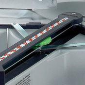 Festool KS120EB's dual-line laser feature