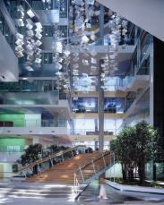 Just as cities are planned with zoning guidelines ensuring access to light and air, office buildings should be configured to provide daylight and views to all occupants. The Genzyme Center, Cambridge, Mass., incorporated these ideas to create an effective and sustainable workplace.