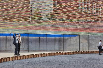 Weaving the Courtyard