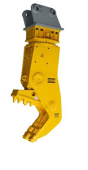 Atlas Copco BP 2050 R, bulk pulverizer with hydraulic rotation option.
