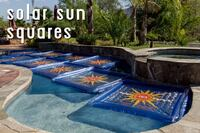 Heat up pools with Solar Sun Squares from Solar Sun Rings