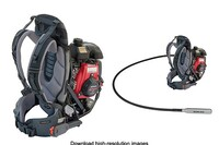 Gas Powered Backpack Concrete Vibrator from Wyco