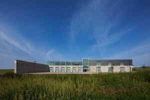 Industrial Technologies Building in Peosta, Iowa by INVISION Architecture.