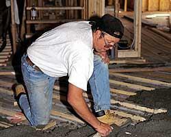Hardwood Flooringover Radiant Heat