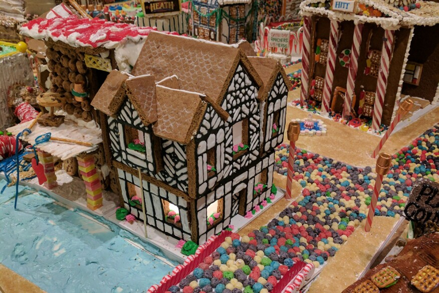 D C Architects Construct London Out Of Gingerbread