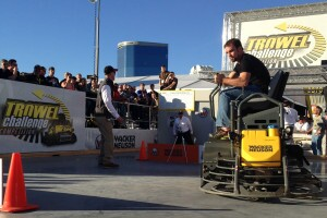 Kent Goossen, HD Concrete, Rosenort, Manitoba, Canada, cruised to a 3rd place finish.