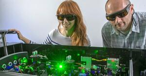Washington University in St. Louis scientists demonstrate a new solar-absorption protein ring.