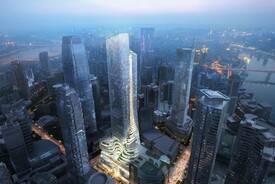 Chongqing Xinhua Bookstore Group Jiefangbei Book City Mixed-use Project
