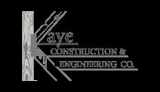 Kaye Construction & Engineering Co. Logo