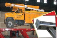 Rust-proof vehicle lift