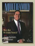 HEAD START: Andrew Farkas graced the first cover of MULTIFAMILY EXECUTIVE in January 1996 after he piloted Insignia Financial Group to the top of the multi-family world.