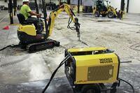 Dual Power Excavator