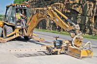 Concrete dowel drills