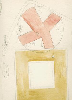 Watercolor Plan Diagram