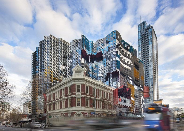 The RMIT Swanston Academic Building, by Lyons Architects.