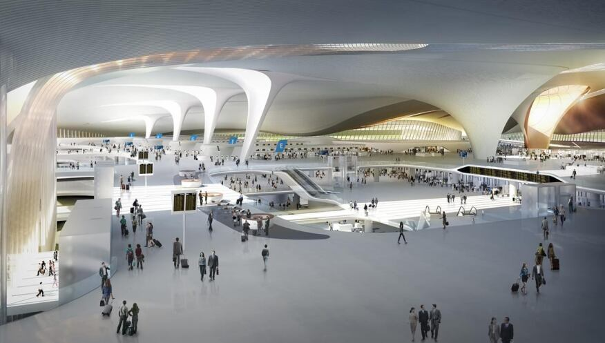 Beijing New International Airport, Daxing, Beijing, China by Zaha Hadid Architects