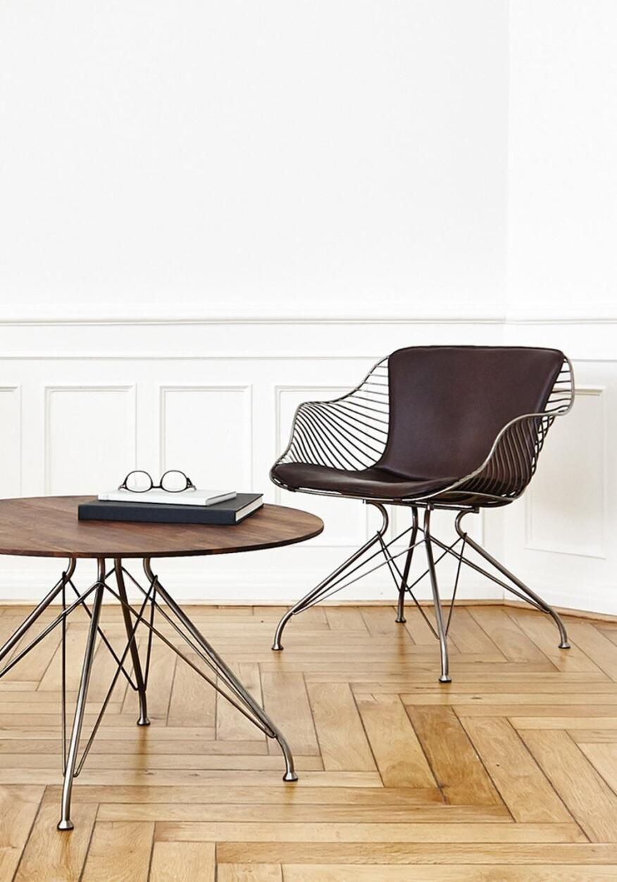 Wire Lounge Chair by Overgaard & Dyrman
