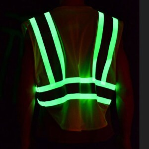High visibility safety garments
