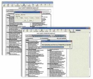 ConstructConnect's Forms Engine lets you transform any paper document you use in the field to an exact digital replica that can be filled out on the tablet PC.