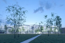 Shared Educational Building at Paris-Saclay