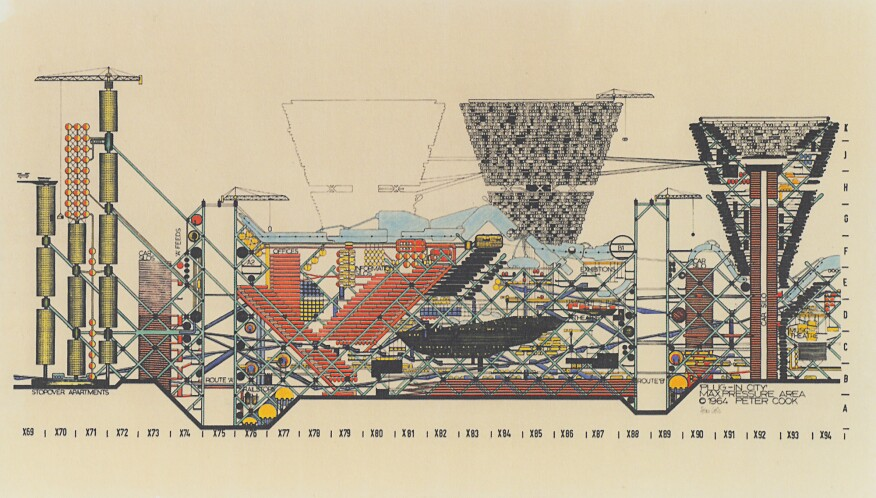 Archigram's Plug-In City