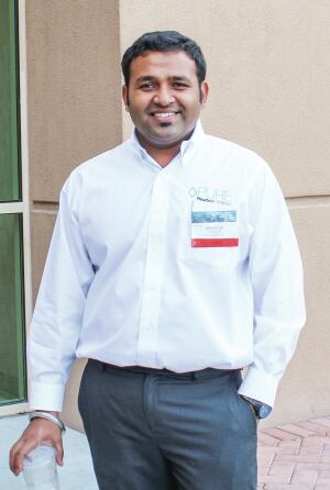 Abhilash Pillai is the director of engineering and research with Pleatco, a manufacturer of cartridges and grids in Glen Cove , N.Y.