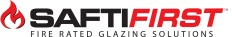 SAFTI FIRST Fire Rated Glazing Solutions Logo