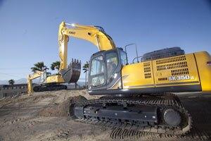 KOBELCO's SK350 Excavator