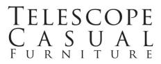 Telescope Casual Furniture, Inc. Logo