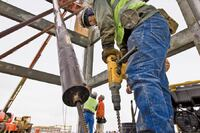 Helical Anchors Gain Ground in Tilt-Up Concrete Construction