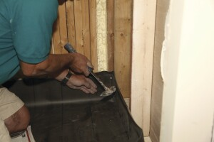 Dealing With Shower Pan Membrane Corners