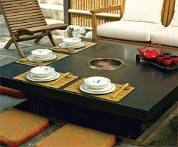 Troy Adams Design Korean Style Barbecue Custom Home