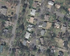 Suburb in Bergen County, N.J.