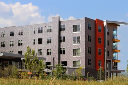 Pittsburgh's East End Welcomes Luxury Apartment Coated in Valspar's Fluropon®