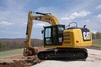 F series excavators from Caterpillar