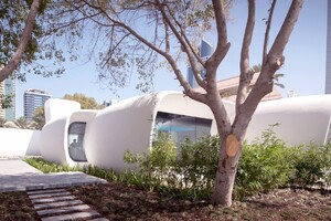 The World's First 3D-Printed Office Building Completed in Dubai