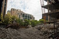 Prentice Hospital is Falling Down