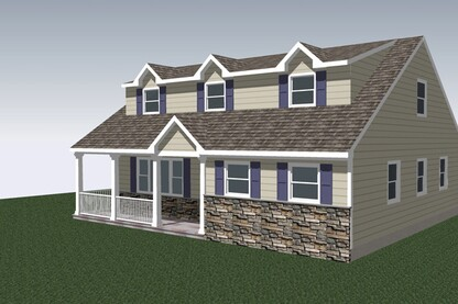 Add a 32-by-20-foot master bedroom suite over a crawlspace.